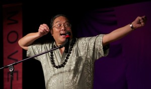Alton Chung Archer by Mark Shingenaga at the Asian American Storytelling Festival