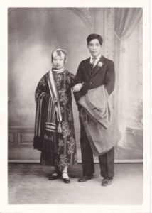 My Parent's Wedding Day Mah Yook Fong (Helen Wong) and Wong Gang Foon (Francis Wong) April 27, 1931