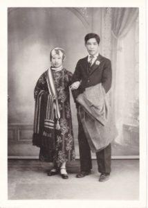 My Parent's Wedding Day Mah Yook Fong (Helen Wong) and Wong Gang Foon (Francis Wong) April 27, 1931